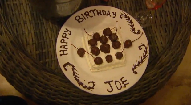 joe birthday cake