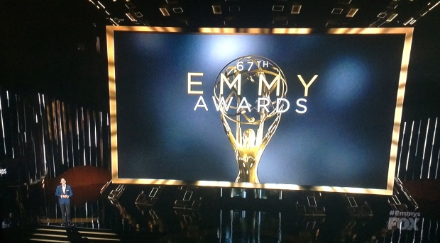 emmys screen stage andy samberg