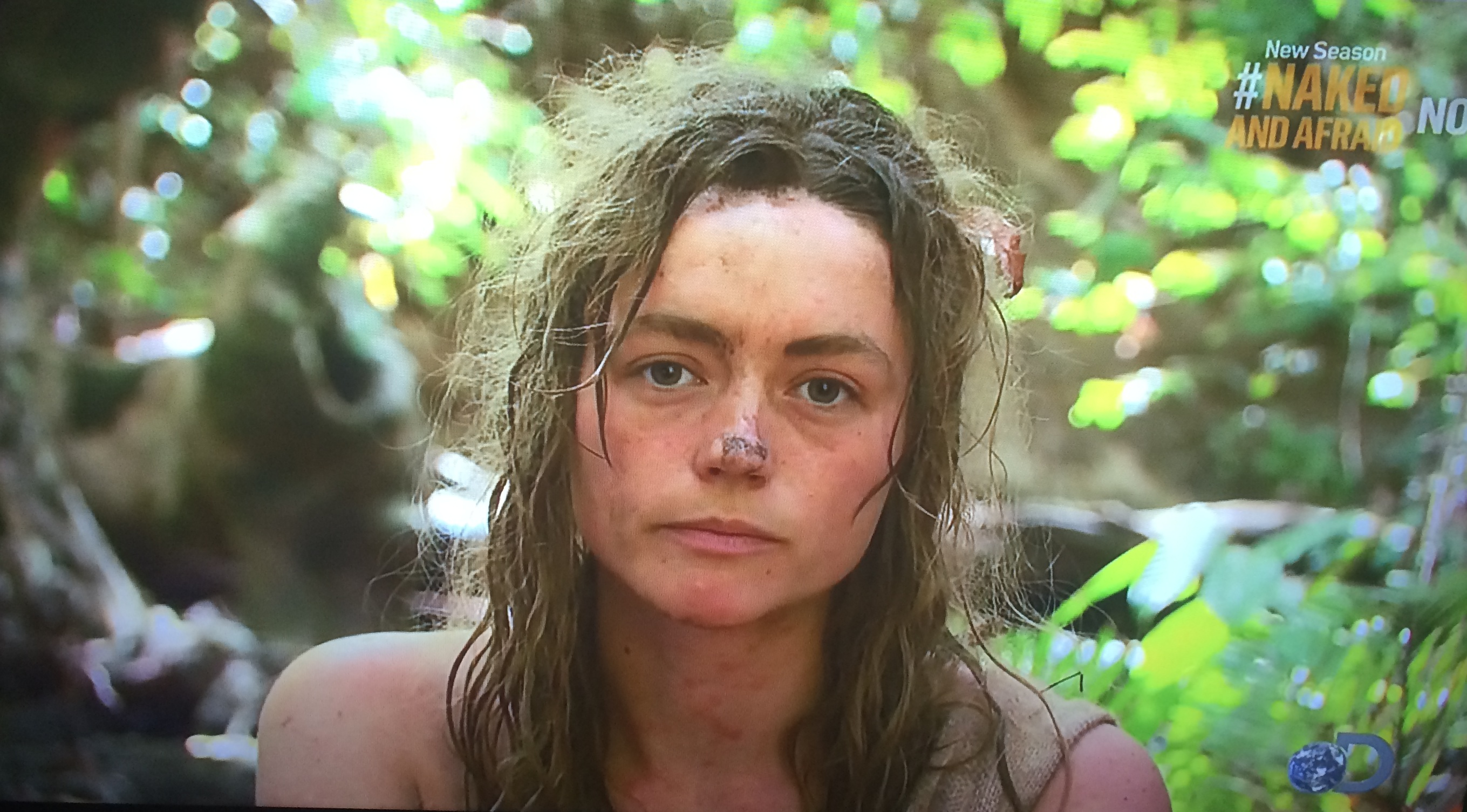 Naked and afraid peeing images 963