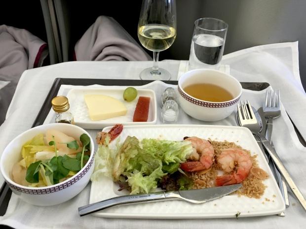 first class food