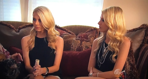 haley emily twins bachelor