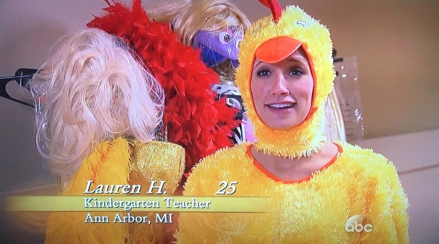 lauren h chicken bachelor