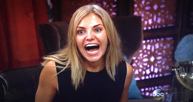 olivia the bachelor huge mouth