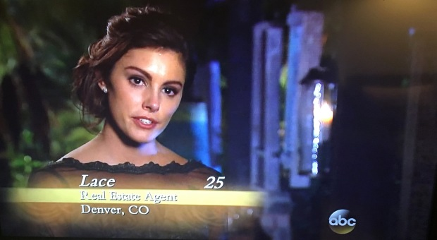 the bachelor lace drunk