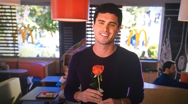 ben bachelor mcdonalds commercial