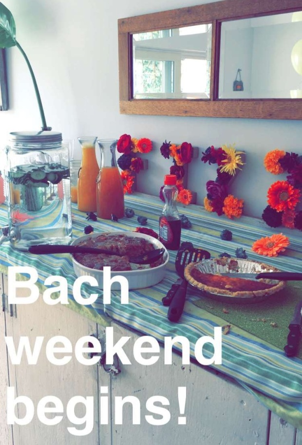 bach weekend