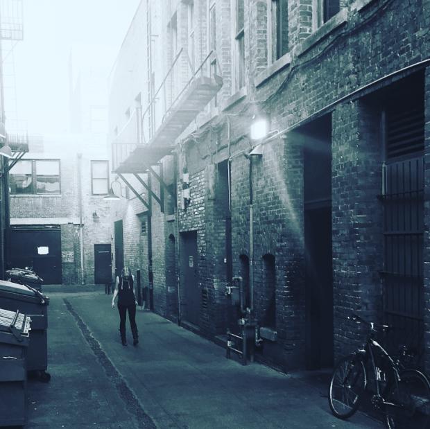 alley old pasadena
