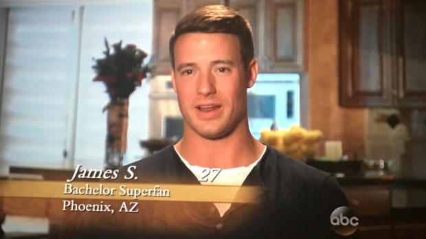 bachelor super fan james bachelorette