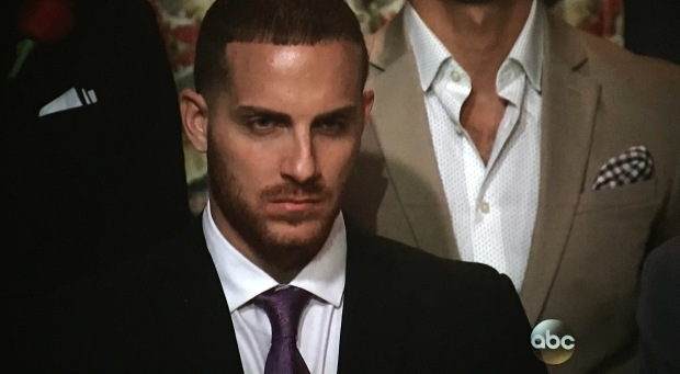 vinny bachelorette angry face