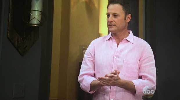 chris harrison pink linen