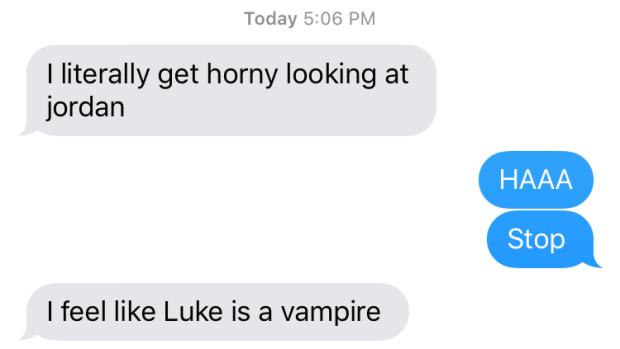 luke is a vampire