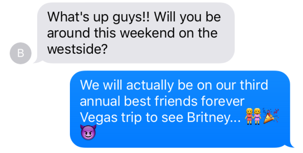britney weekend vegas bffs