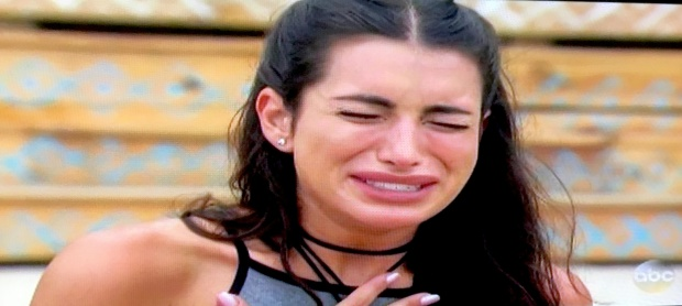 ashley cry again sad bachelor in paradise