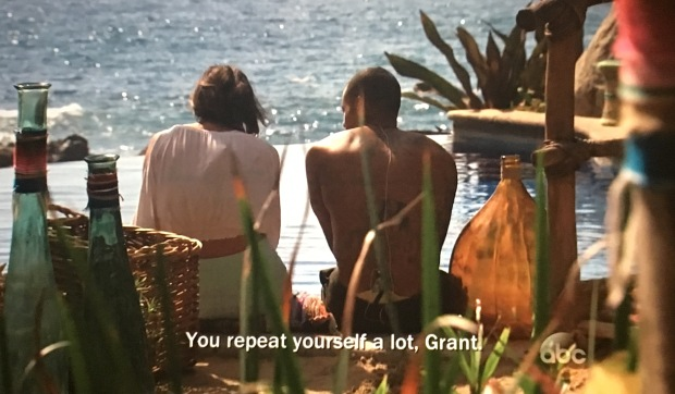 grant repeats himself bachelor in paradise