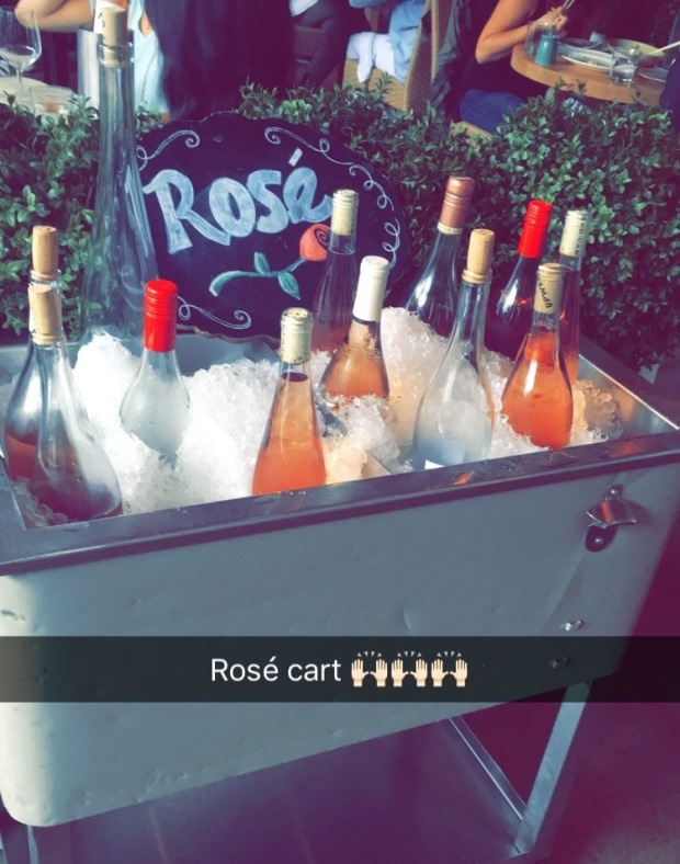 heaven on wheels rose cart