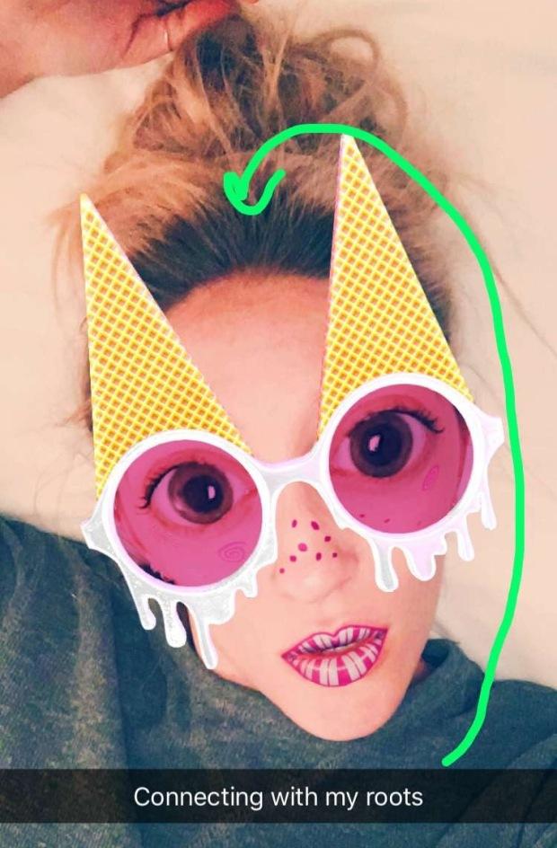ice cream glasses snapchat