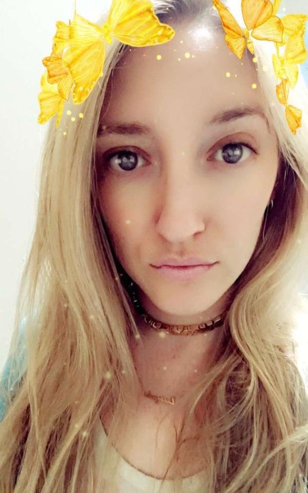 snapchat butterfly filter