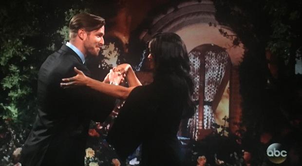 awkward hand shake final rose rachel
