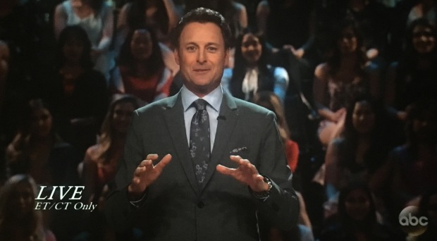 chris harrison excited