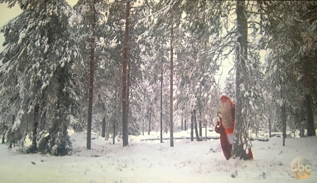 santa in the woods bachelor
