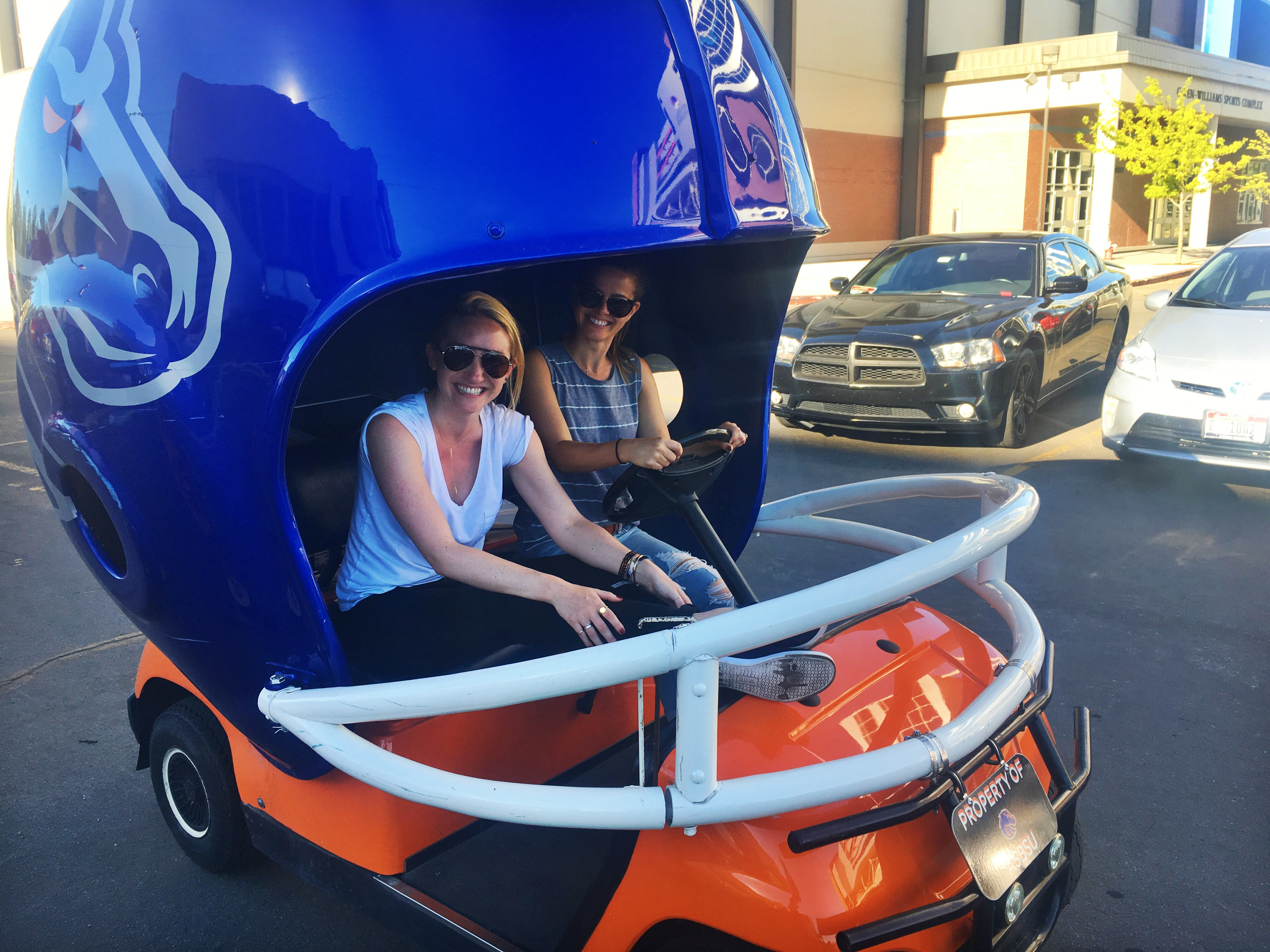 Tosh o golf cart