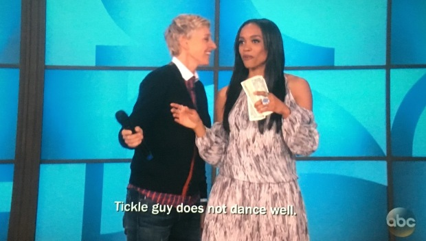 tickle guy doesn't dance well ellen