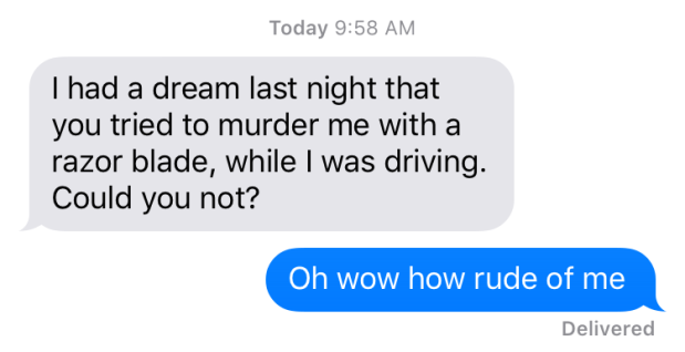 murder dream