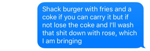 shake shack order