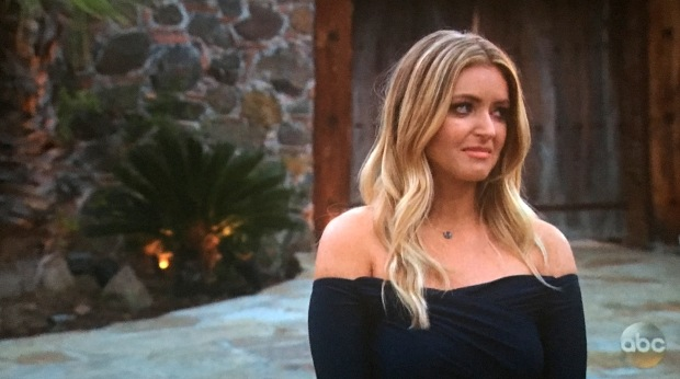 amber cry bachelor arie