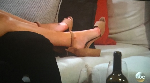 becca shoes blisters bachelor.JPG