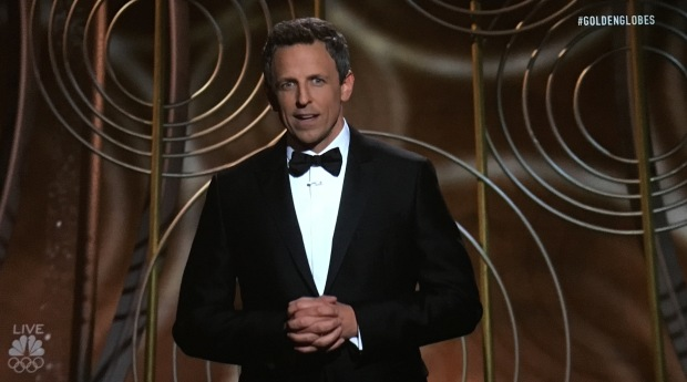 seth meyers golden globes