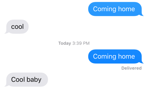 texting when you're married