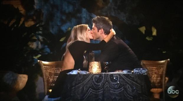 lauren arie kiss date italy.JPG