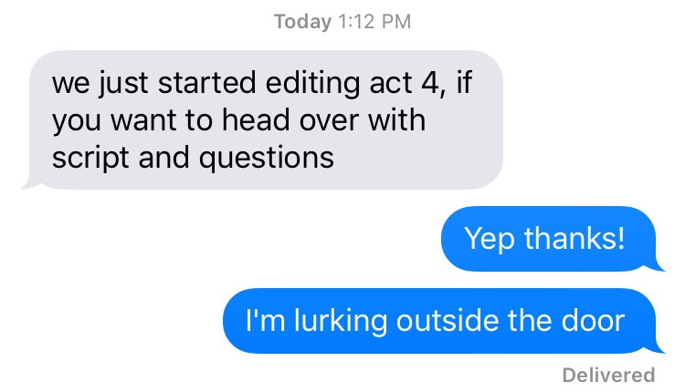 being a tv writer