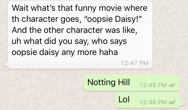 notting hill oopsie daisy